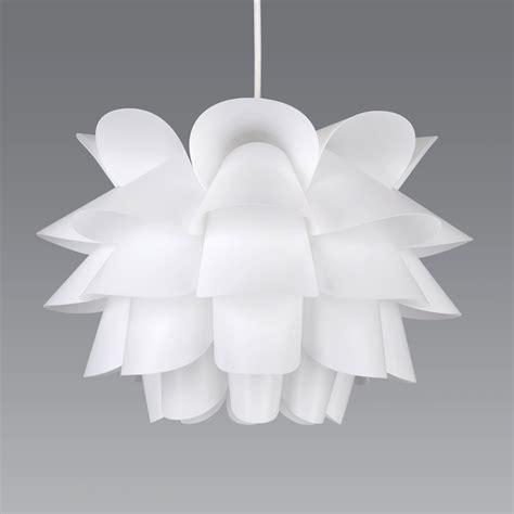 Modern White Ceiling Light Modern White Artichoke Style Funky Ceiling Pendant Light Shade Fitting Lights