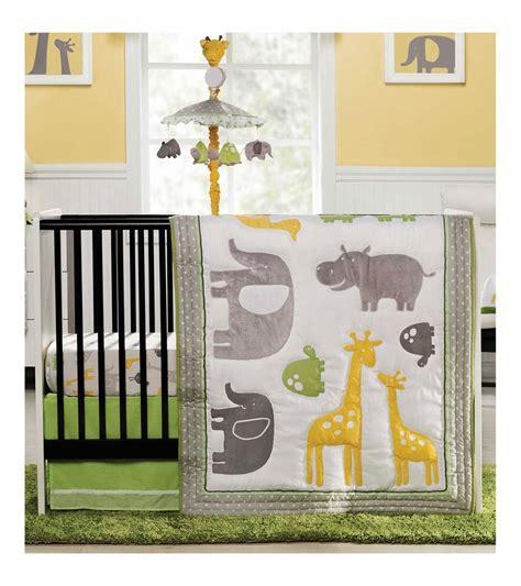 Carter S Zoo Animals 4 Piece Crib Bedding Set Zoo Crib Bedding