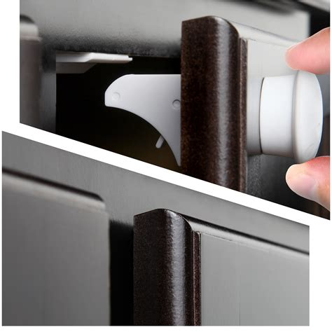 safety baby magnetic cabinet locks installation safety baby magnetic cabinet locks no tools or screws