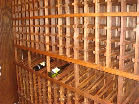 building wine racks for cellar interior4you