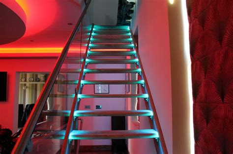 Led Light Strips For Stairs Led Step Lighting Colour Brightness Power