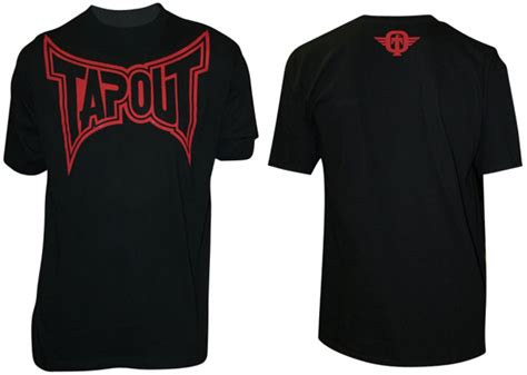 Tap Out Classic Shirt Blackgreen tapout classic collection t shirt black