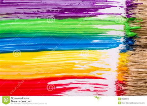 rainbow paint background royalty free stock photos image 35206518