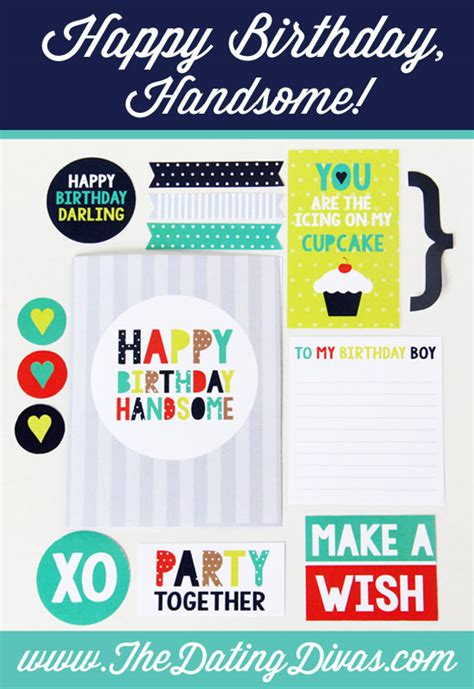 printable birthday cards diy printable birthday cards for your husband