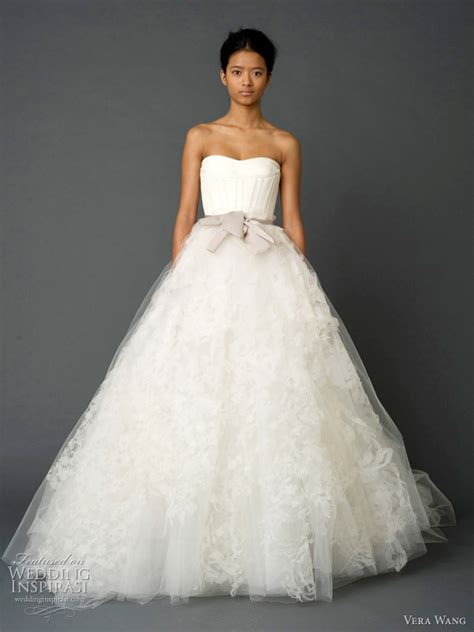 vera wedding dresses spring 2012 wedding inspirasi