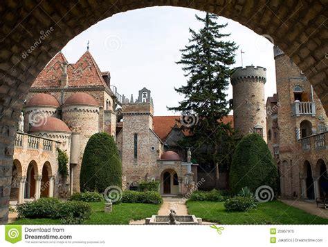 backyard castle backyard of the castle bory royalty free stock photo