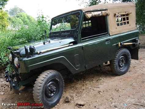 Jonga A Tribute To Indian Army S Favourite Suv
