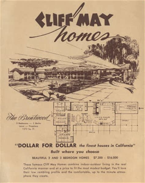 cliff may claremont modernism cliff may homes brochure