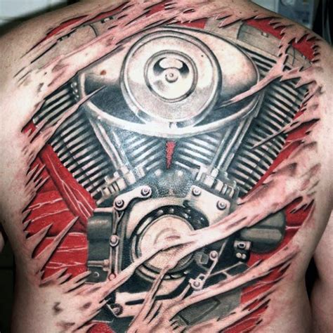 motor tattoos 60 motorcycle tattoos for two wheel design ideas