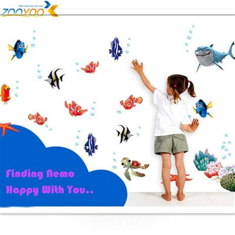 finding nemo wall stickers 3d stickers finding nemo wall decals nursery
