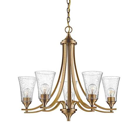 Seeded Glass Chandelier 6 Light Seeded Glass Chandelier Bellacor