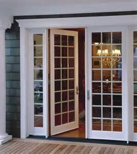 milgard in swing doors traditional patio