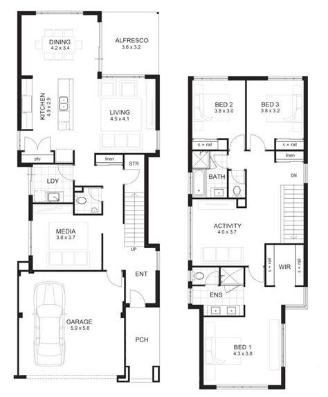 3 bedroom townhouse plans 3 bedroom townhouse plans 2 storey home plans ideas