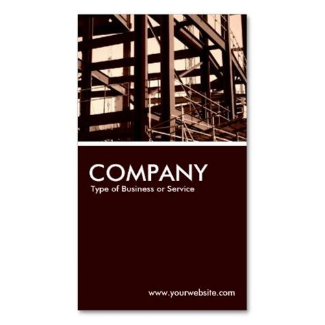Construction Visiting Card Templates by 333 Best Construction Business Card Templates Images On