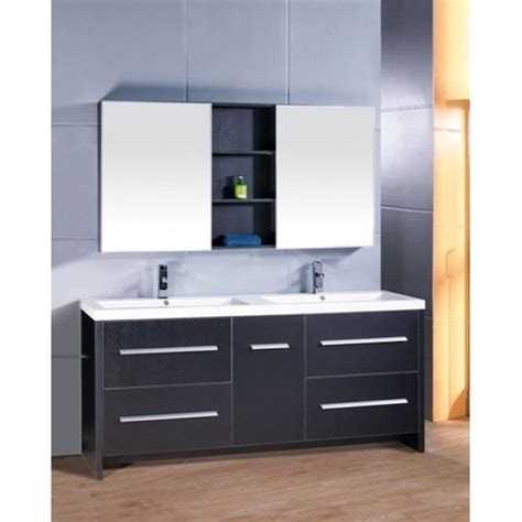 Design Element Bathroom Vanities by Design Element Perfecta 72 Quot Sink Bathroom Vanity
