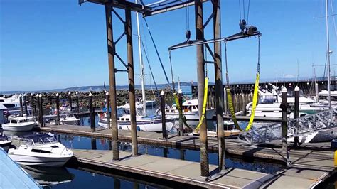 public boat launch anacortes wa port of edmonds boat launch youtube
