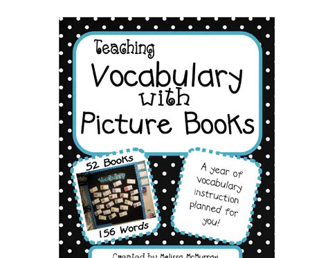 vocabulary picture book primary inspired teaching vocabulary with picture books