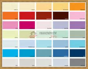 Wall Paint Color Chart Interior House Paint Colour Charts Bedroom Inspiration