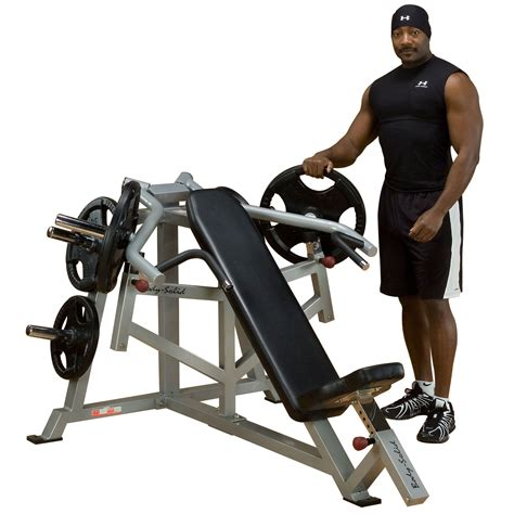 body solid incline bench body solid leverage incline bench press