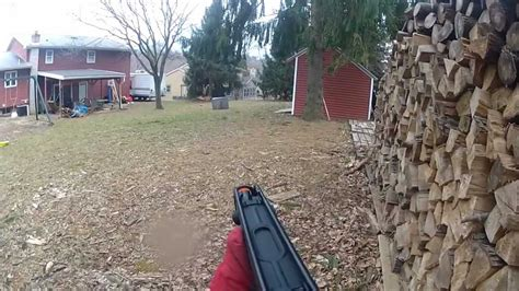 airsoft wars backyard backyard airsoft war 4 1 v 1 jg skorpion gopro youtube