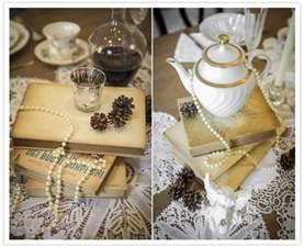 vintage themed bridal shower tea