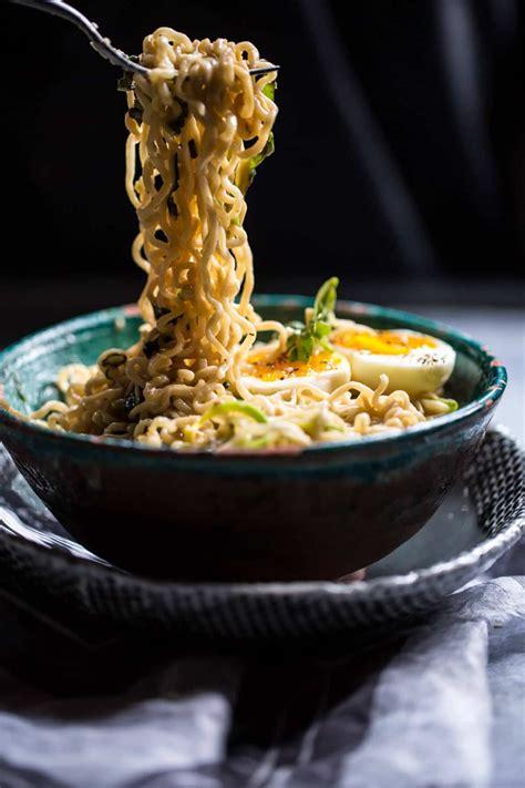 minute garlic butter ramen noodles  baked harvest