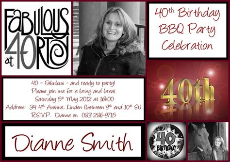 exles of 40th birthday invitations 40th birthday invitation invitations 40th birthday invitations and 40th