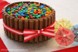kuchen mit kitkat kit birthday cake a spoonful of sugar