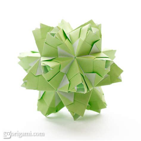 modular origami kusudama roses kusudama diagram