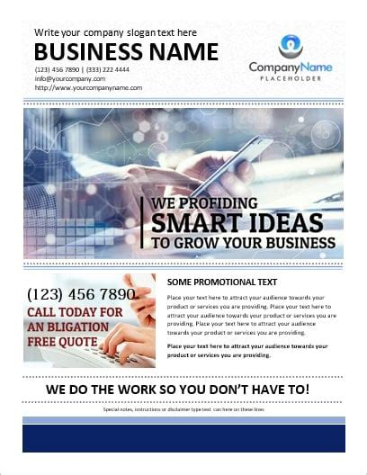 Printable Ms Word Business Flyer Office Templates Online Free Business Flyer Templates For Word