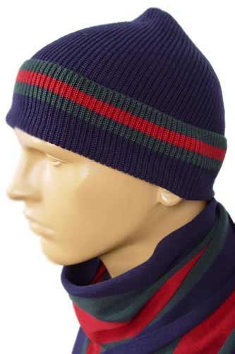 Gucci 45 Set Mens Designer Clothes Gucci Hat Scarf Set 45