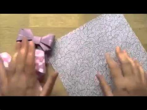 tutorial origami dasi full download membuat pita hias bentuk dasi kupu2