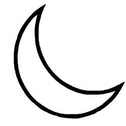crescent moon outline tattoo