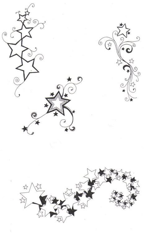 tattoo online zeichnen lassen online tattoo vorlage sterne mit schn 246 rkel und schweif
