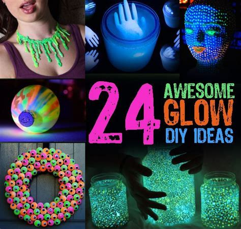 glow in the decorations diy billingsblessingbags org