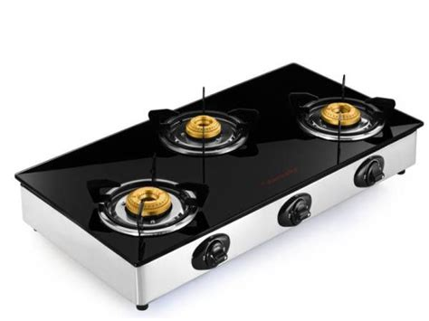 Oven Gas Butterfly butterfly grand 3 burner manual gas stove price in india