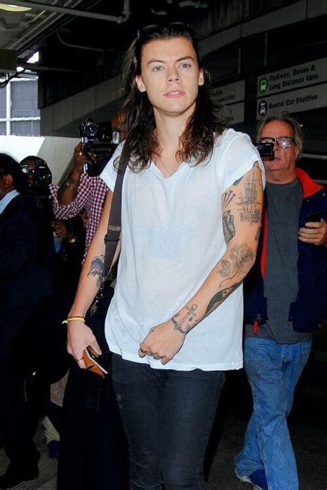 tattoo harry styles 2015 harry styles covers up things i can arm tattoo with new