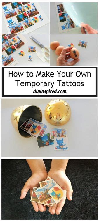 Make Your Own Temporary Tattoos Paper - 796 best images about diyinspired on gift