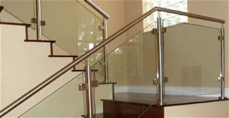Chrome Banisters Stainless Steel Stair Parts Modern Stair Railing Components