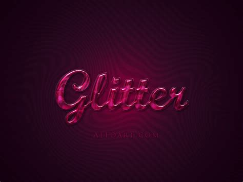 design free st online photoshop extremely glossy and shiny text effect psd file