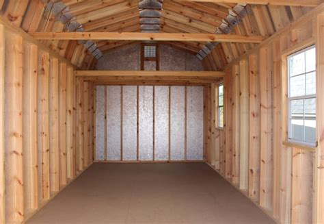 Interior Shed Walls by Gambrel Roof Shed Vs Gable Roof Shed Which Design Is