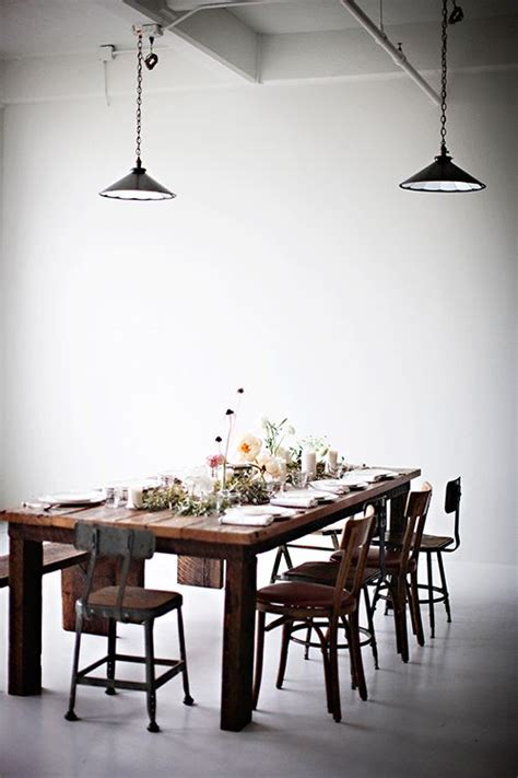 industrial dining room 35 cool industrial dining rooms and zones digsdigs