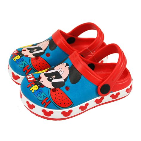 Disney Mickey Shoes 5 disney 174 mickey mouse boys sandals clogs shoes uk sizes 18mths 9yrs ebay
