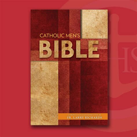 the catholic men s bible nabre the reason for our