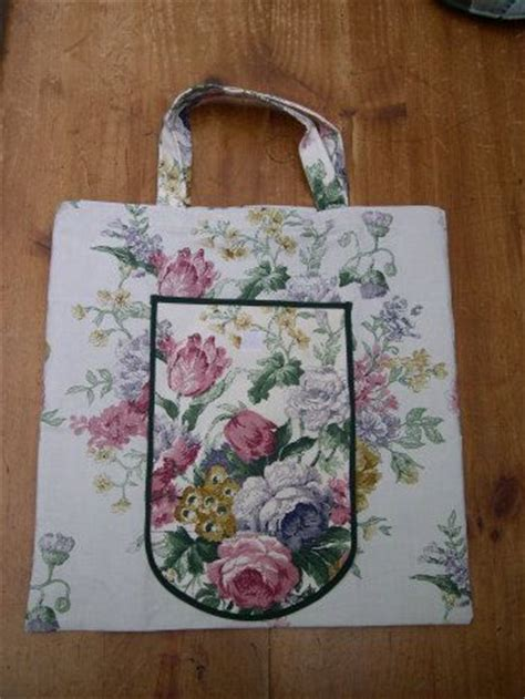pattern for a tote bag with lining upcycled nylon lined folding shopper bag free sewing