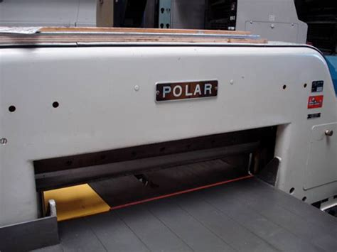 Polar Cutter by 1968 Polar 30 5 80 Hy Paper Cutter 5 500 00 Usa Printing Machines