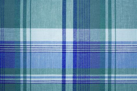what is plaid blue green colored plaid fabric texture picture free