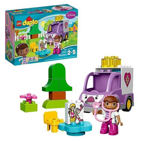 Doc Mcstuffins Rosie The Ambulance Lego Duplo Disney 10605 lego duplo 10605 doc mcstuffins rosie the ambulance lego doc mcstuffins construction toys