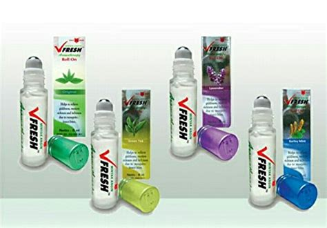 Vfresh Aromatherapy Roll On 8ml bundle 4 variant eagle brand v fresh medicated roll on