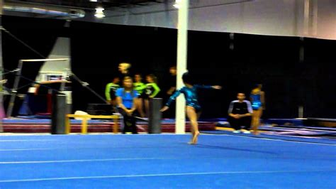 level 4 gymnastics floor routine joelle empire gymnastics